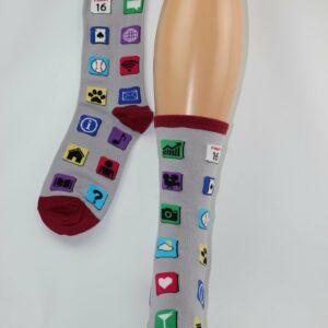 Social media sokken
