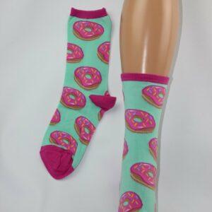 Donut sokken mint