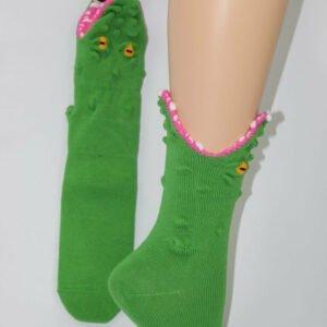 krokodil aan je voeten