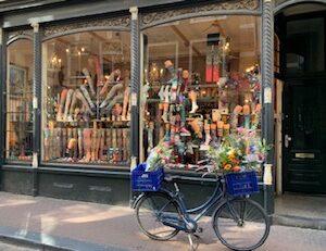 etalage fiets