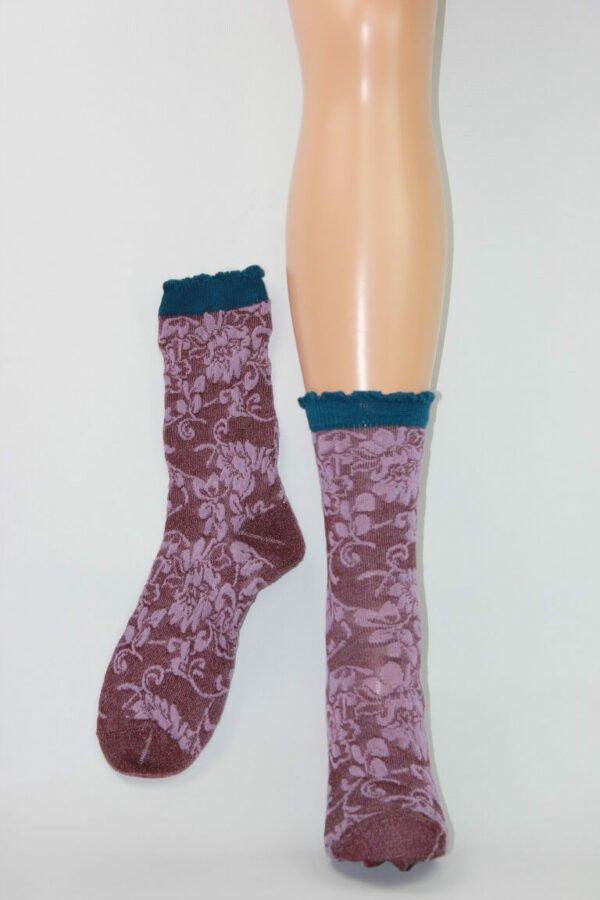 Japan sokken paars