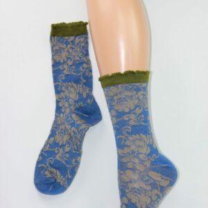 japan sokken blauw
