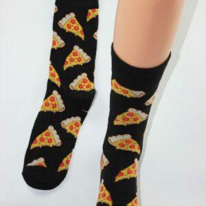 Pizza sokken man