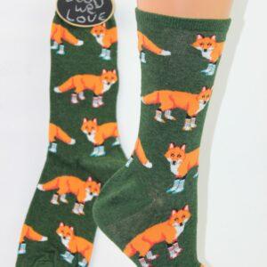 Vos met socks