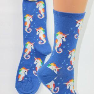 Regenboog zee unicorn