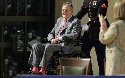 Zelfs ex presidenten dragen vrolijke sokken