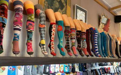 Zoveel nieuwe sokken en panty's…….