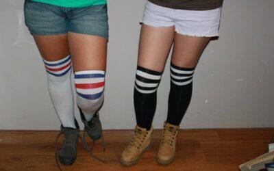 En zo worden deze sokken gedragen!