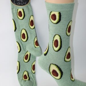 bamboo avocado enkel sokken