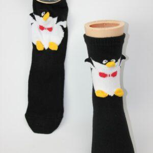 3D pinguïn kinder sokken