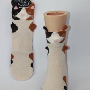 3d poes kinder sokken
