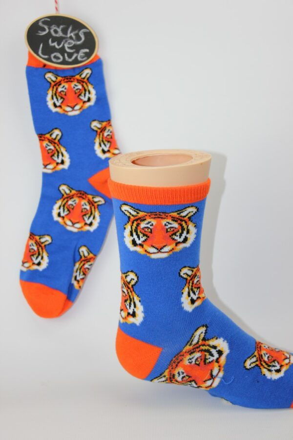 kinder tijger sokken