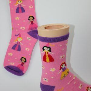 Feeën kinder sokken roze