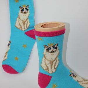 kinder poezen sokken