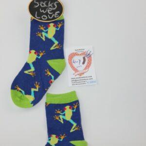 kinder kikker sokken