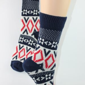 warme sok noorse stijl