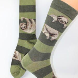 luiaard sloth mannen sok