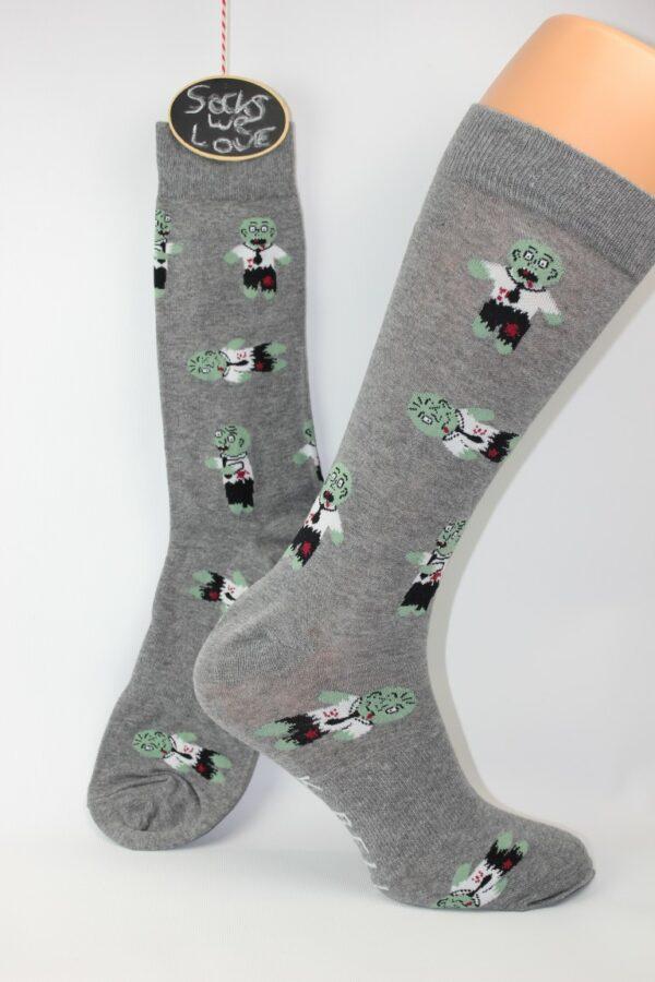 enge zombie monster sokken