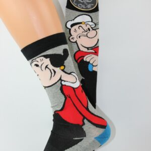 popeye en olijfje sokken