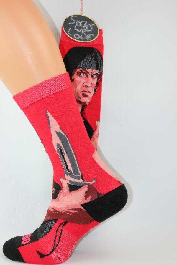 Rambo Sylvester Stallone sokken