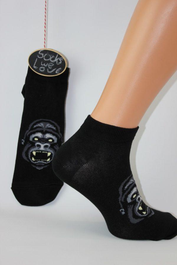 gorilla aap mannen sokken