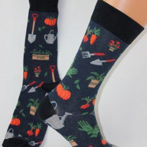 tuinieren is leuk sokken