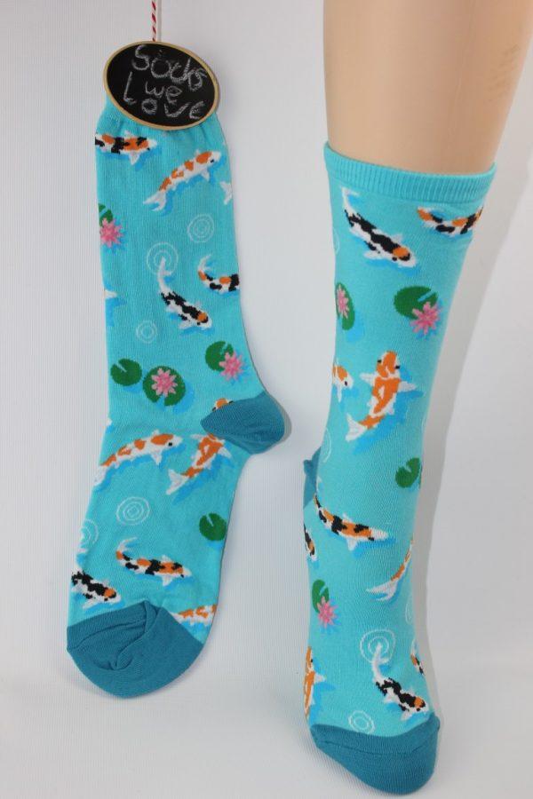 koi vissen vijver sokken