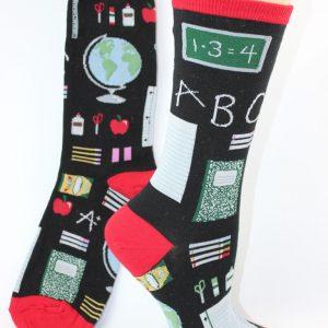 lerares en school sokken