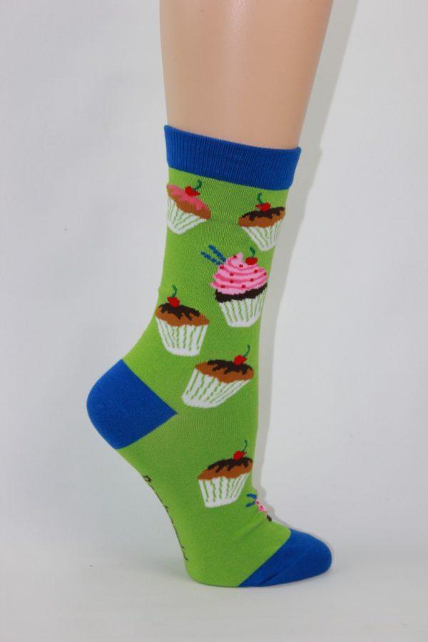 bamboo cupcakes sokken