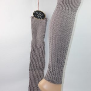 Beenwarmer taupe