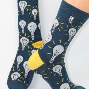 gloeilamp yes idee sokken