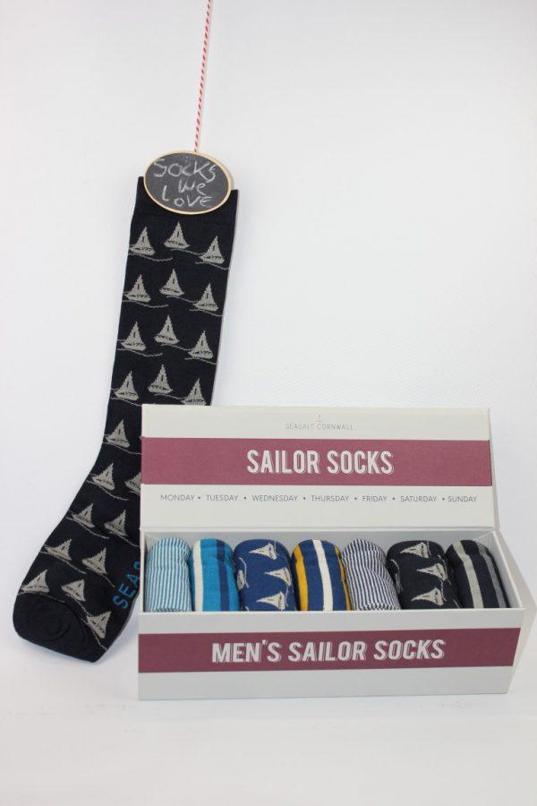 mens sailor socks boot
