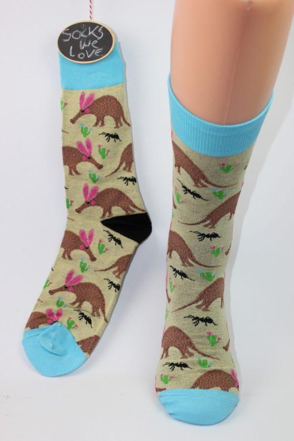 miereneter sokken man